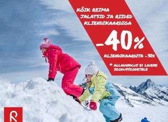 ALANUD ON REIMA KAMPAANIA, KÕIK -40%